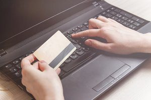 uses of laptop in online shopping