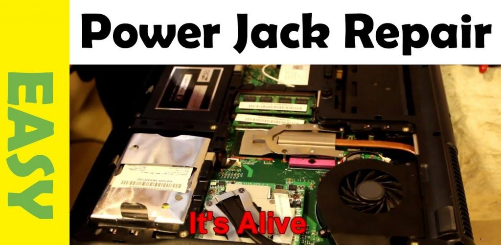 How to Fix Laptop Power Jack Without Soldering?