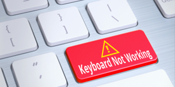 external keyboard for laptop not working