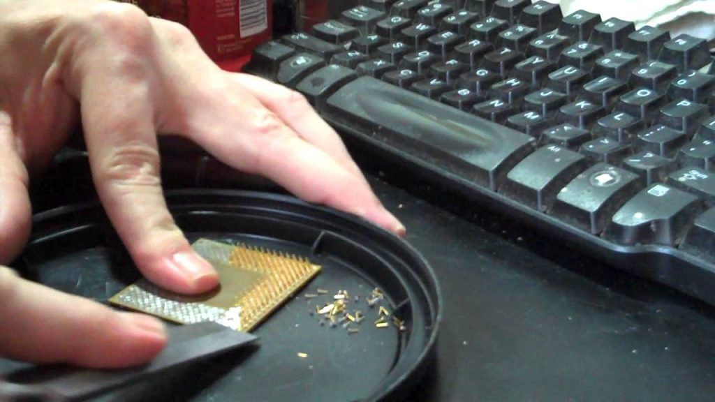 How Much Gold is in a Computer Processor?